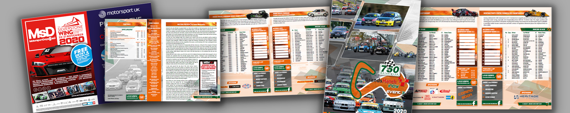 Race Programme - Brands Hatch