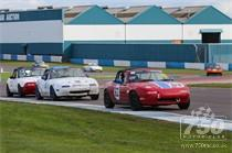 Mazda Mx5's at Donington Park National 2015