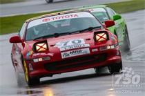 Toyota MR2's at Donington Park National 2015
