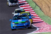 750 MOTOR CLUB – K-Tec Racing Clio 182 Championship racing at Brands Hatch 2015