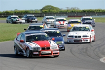 BMW Compact Cup grid had lots of cars