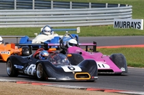 750 Formula - Cowley and Gough do battle