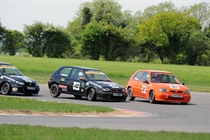Stock Hatch - Saunders leads race 1