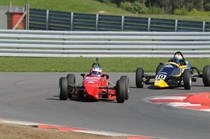 Formula Vee - Keith Farrance took his first win since the 1960's