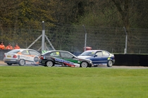 Action in the BMW Compact Cup