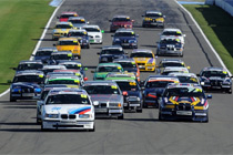 Another packed grid in the BMW Compact Cup