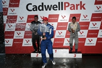 Champagne sprays at the end of a packed BMW Compact Cup season