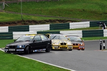 The BMW Compact Cup has its share of the action