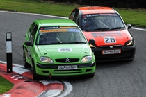 Stock Hatch - close racing between Swift and Carter
